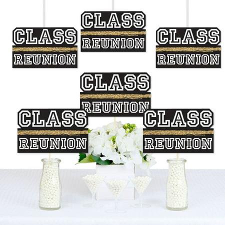 Reunited - Decorations DIY School Class Reunion Party Essentials - Set of 20 - Class Reunion Decorations