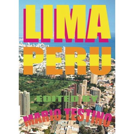 Lima Peru: Edited by Mario Testino - Walmart.com