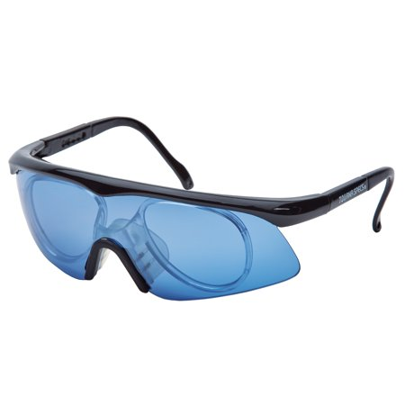 Unique Sports Tourna Specs Blue Protective Eyewear with Prescription Adapter