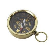 Pocket Compass Brass Nautical Accents