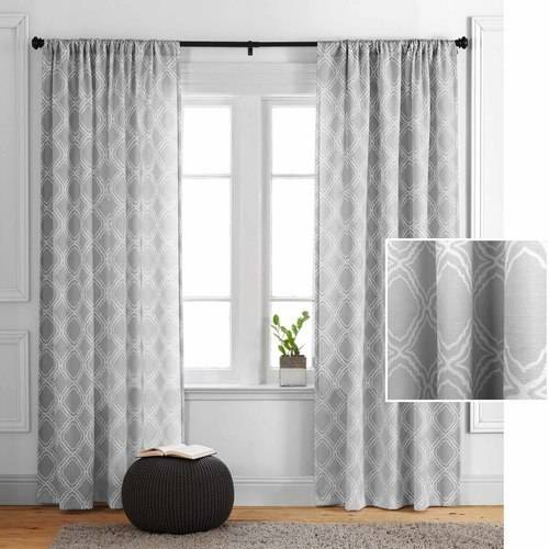 Better Homes and Gardens Trellis Curtain Panel by Colordrift LLC