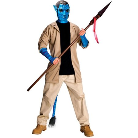 Morris Adult Mens Tv & Movie Characters Avatar Jake Sully Deluxe 44, Style RU889806