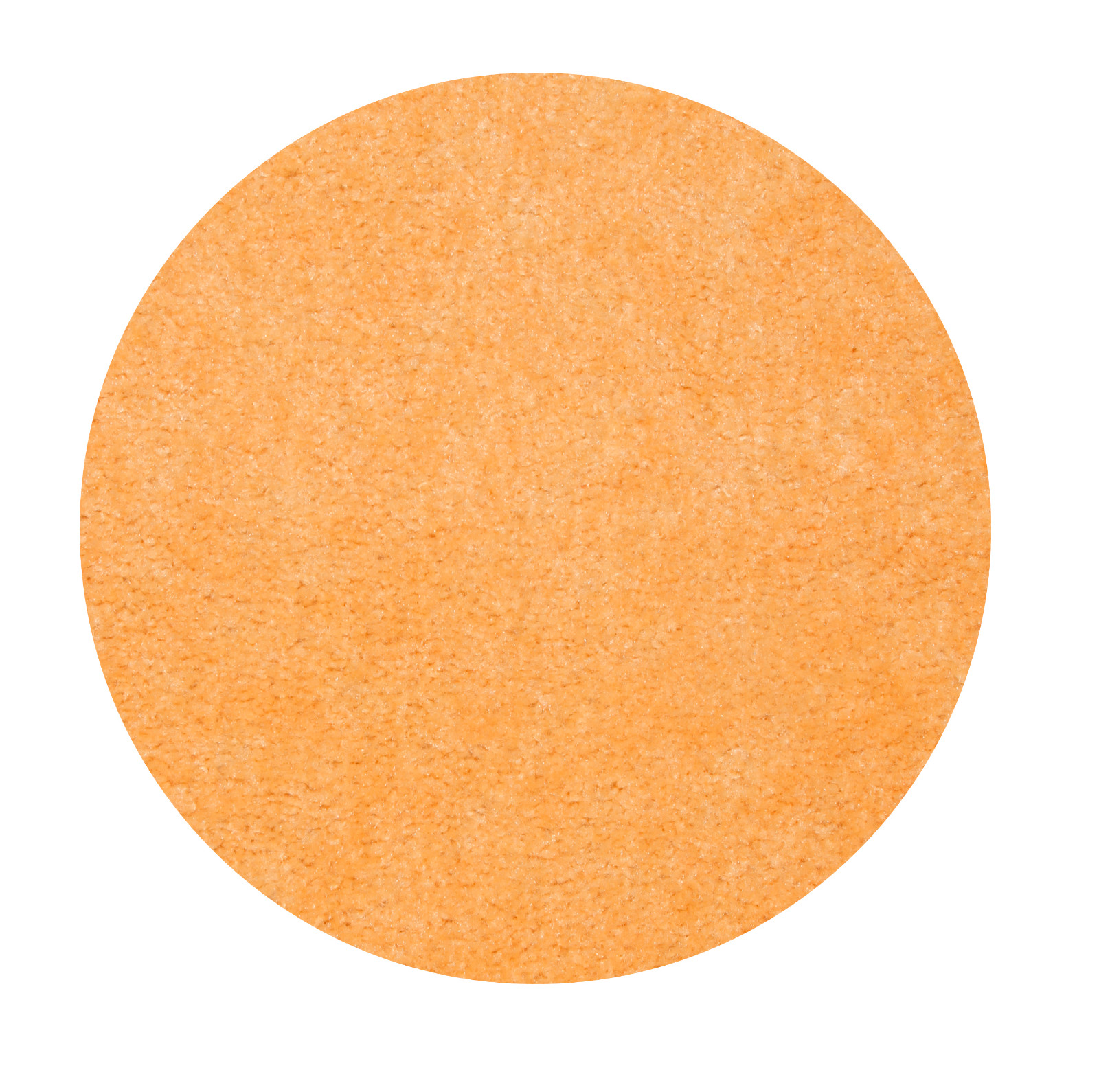 Home Queen Solid Color Peach 12' Round - Area Rug