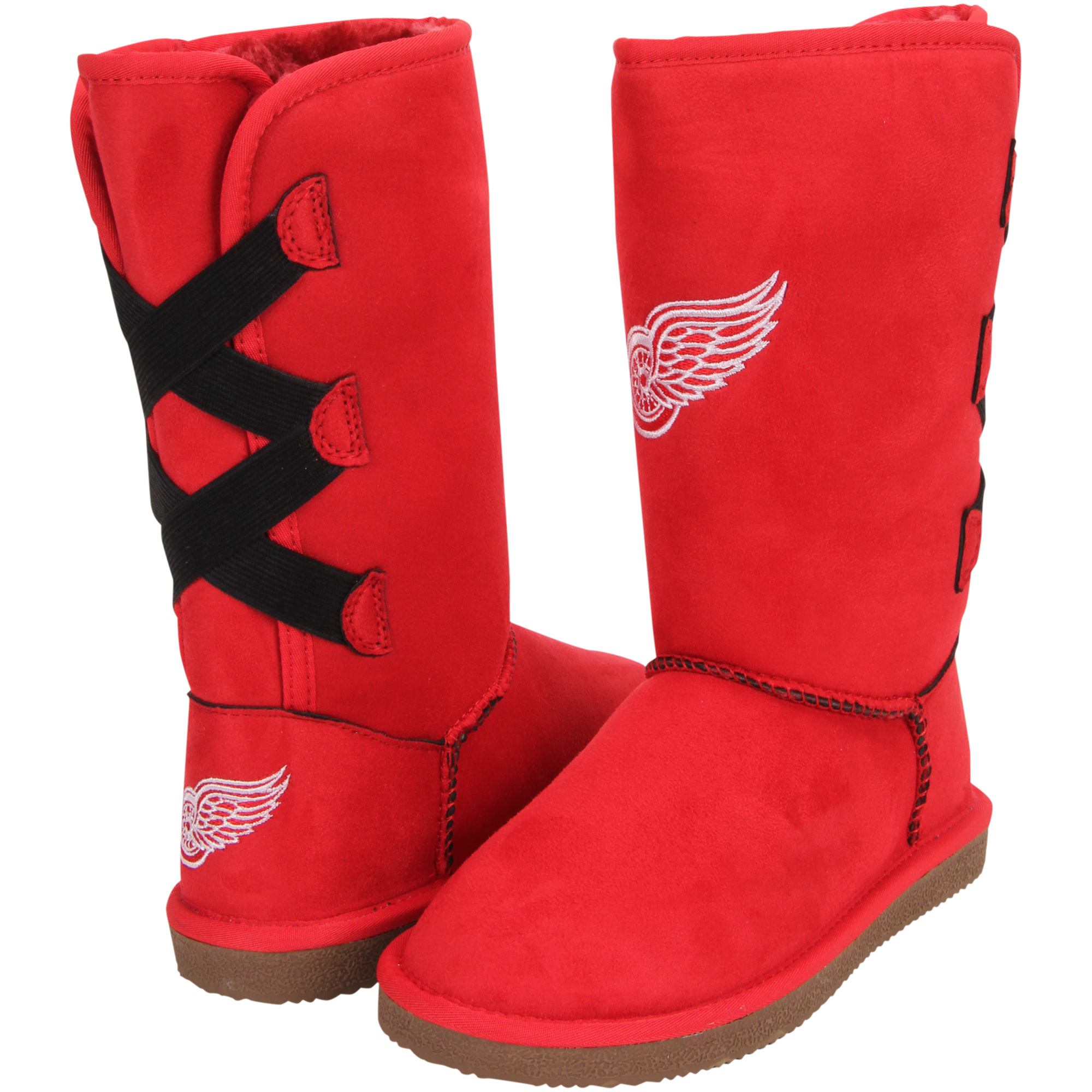 Women's Cuce Detroit Red Wings Conqueror Boots by Cuce Shoes