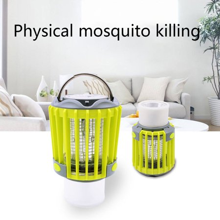 Compact Outdoor Electric Mosquito er Trap Lamp Night Light Fly Bug Lamp - image 5 of 6