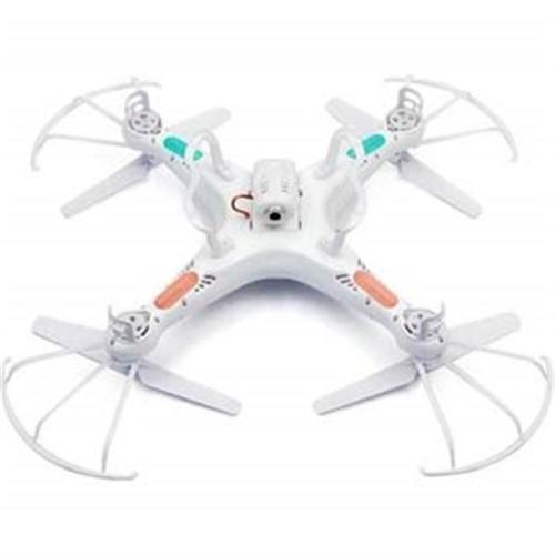 Microgear EC10399-White RC Quadcopter Drone UAV RTF UFO with 2MP HD Camera Syma