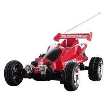 Microgear EC10253-RD Microgear Radio Controller RC Mini Buggy Red Car 1:52 Scale