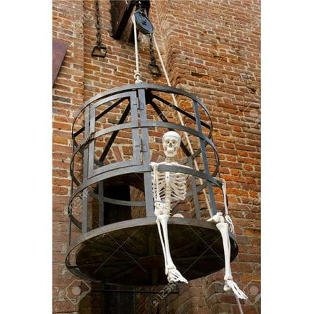 Innovative Living H1101 Halloween Skeleton in a