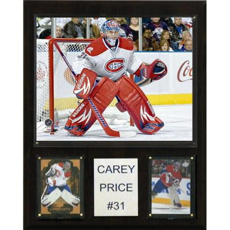C & I Collectibles 1215CPRICE LNH Carey Price Canadiens de Montr-al Player Plaque - image 1 de 1