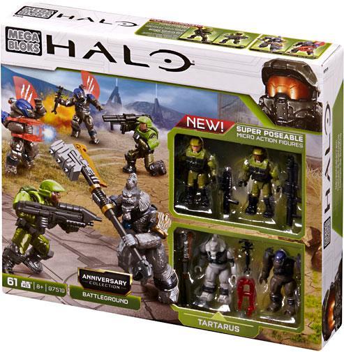 Mega Bloks Halo Anniversary Collection: Battleground Exclusive Set #97519 by