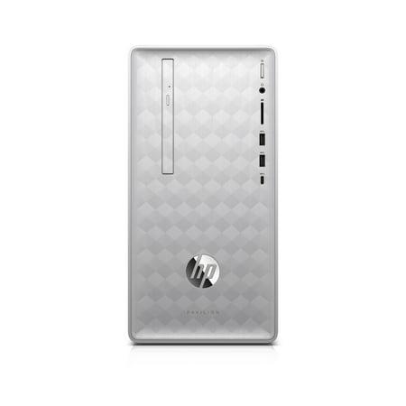 HP Pavilion 590-p0086 Desktop Computer - Core i7 i7-8700 - 8GB RAM - 1TB HDD - 16GB SSD - Windows 10 Home (Factory