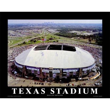 Texas Stadium - Dallas Cowboys Art Print - Halloween Stores In Dallas Texas