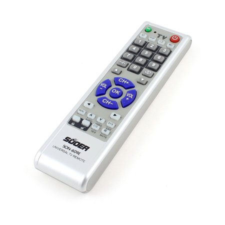 Unique Bargains Gray TV Television Control Remote Controller Spare Part