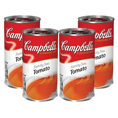 (3 Pack) Campbell's Condensed Family Size Tomato Soup, 23.2 oz. ()