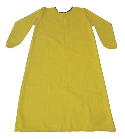 """CONDOR Smock Apron,Yellow,XL, 46-1/2"""" L 11J844"""