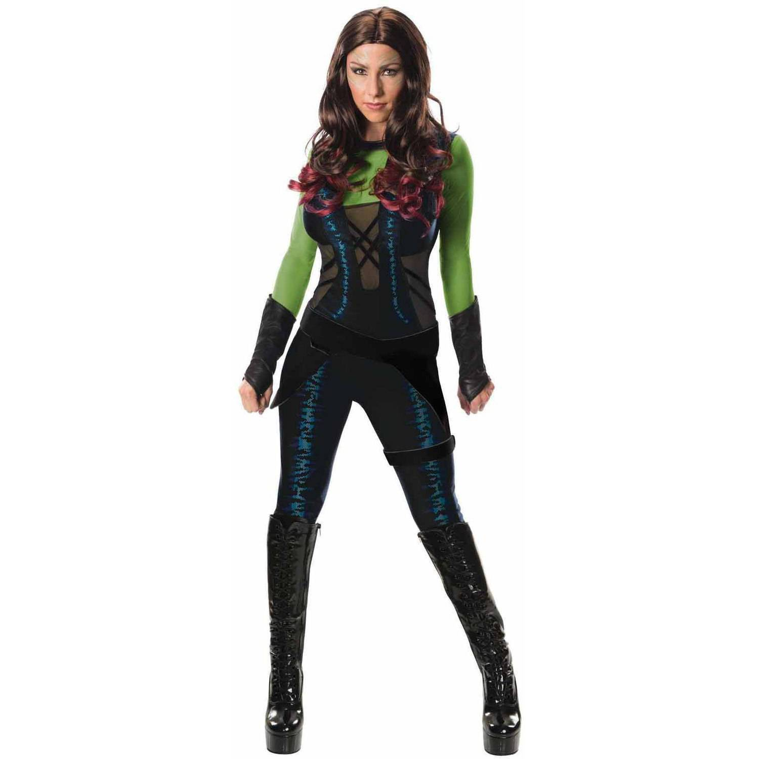 Guardians Of The Galaxy Gamora Women S Adult Halloween Costume