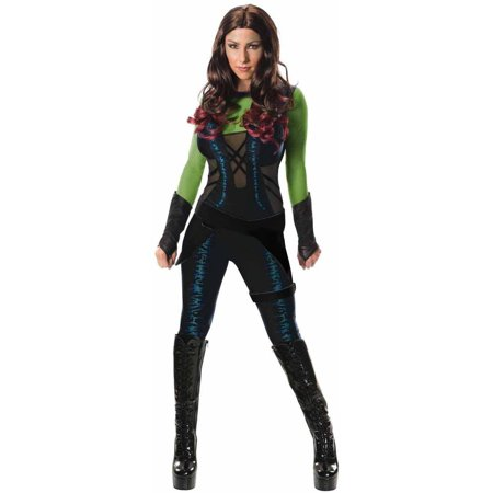 Guardians of the Galaxy Gamora Women's Adult Halloween Costume (Halloween Costume Clearance)