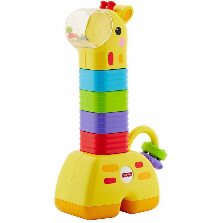 Fisher Price Little Stackers Giraffe by Fisher-Price