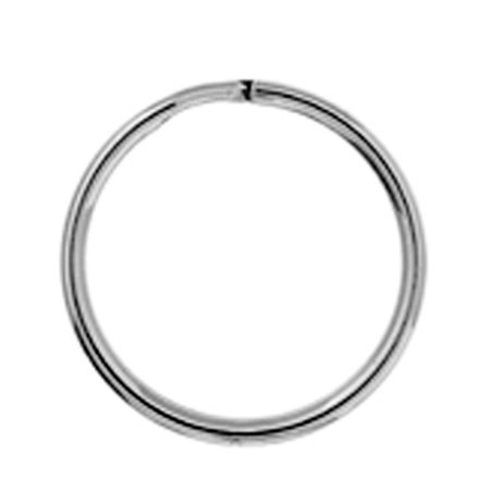 Metal Split Rings Nickel Color 100 Pack Jewelry Findings - 6 Sizes Lead Free Nickel Free - image 10 de 14