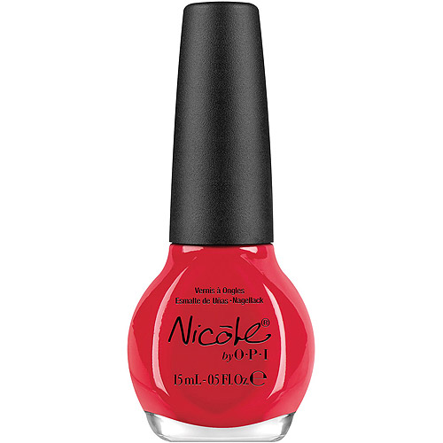 Nicole by OPI Nail Lacquer, Please Red-Cycle, NI407, 0.5 fl oz