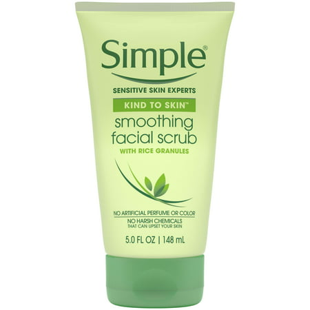 Simple Kind to Skin Smoothing Facial Scrub, 5 oz