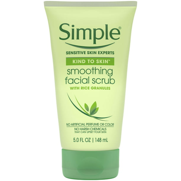 Simple Kind To Skin Smoothing Facial Scrub 5 Oz Walmart Com