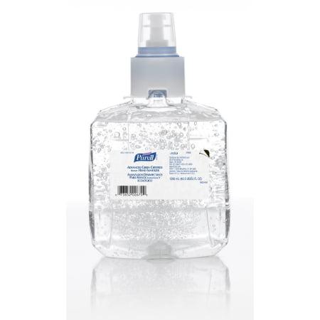 Purell Advanced Hand Sanitizer  1200 mL Ethanol Gel Dispenser Refill Bottle PK/4