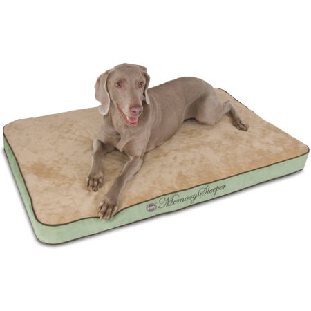 K&H Pet Products Memory Sleeper Dog Bed, Large, -