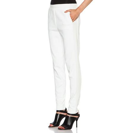 - 3.1 Phillip Lim White Trapunto Track Pants (XS)