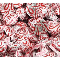 Christmas Kisses, Candy Cane, Hershey's Kisses (Pack of 4 LBS Bag)