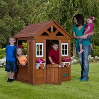 Backyard Discovery Timberlake Cedar Wooden Playhouse Deals