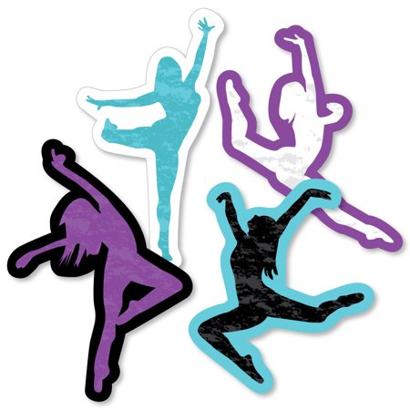 Must Dance to the Beat - Dance - Dancer Decorations DIY Birthday Party or Dance Party Essentials - Set of 20](Dance Party Decorations)