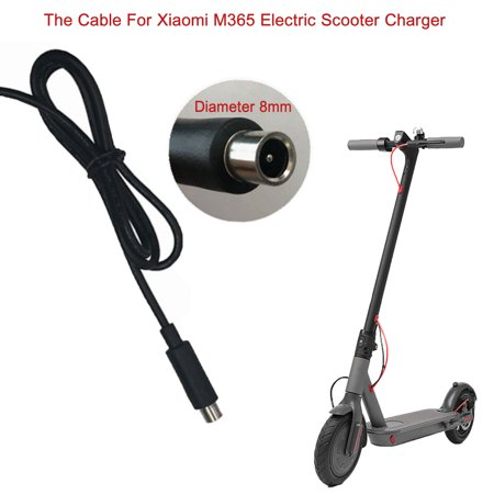 DC 8mm Charging Cord For 42V 2A Xiaomi Mijia M365 Electric Scooter