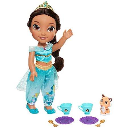JP Jakks Disney Princess Toddler Playset Tea Time with 14