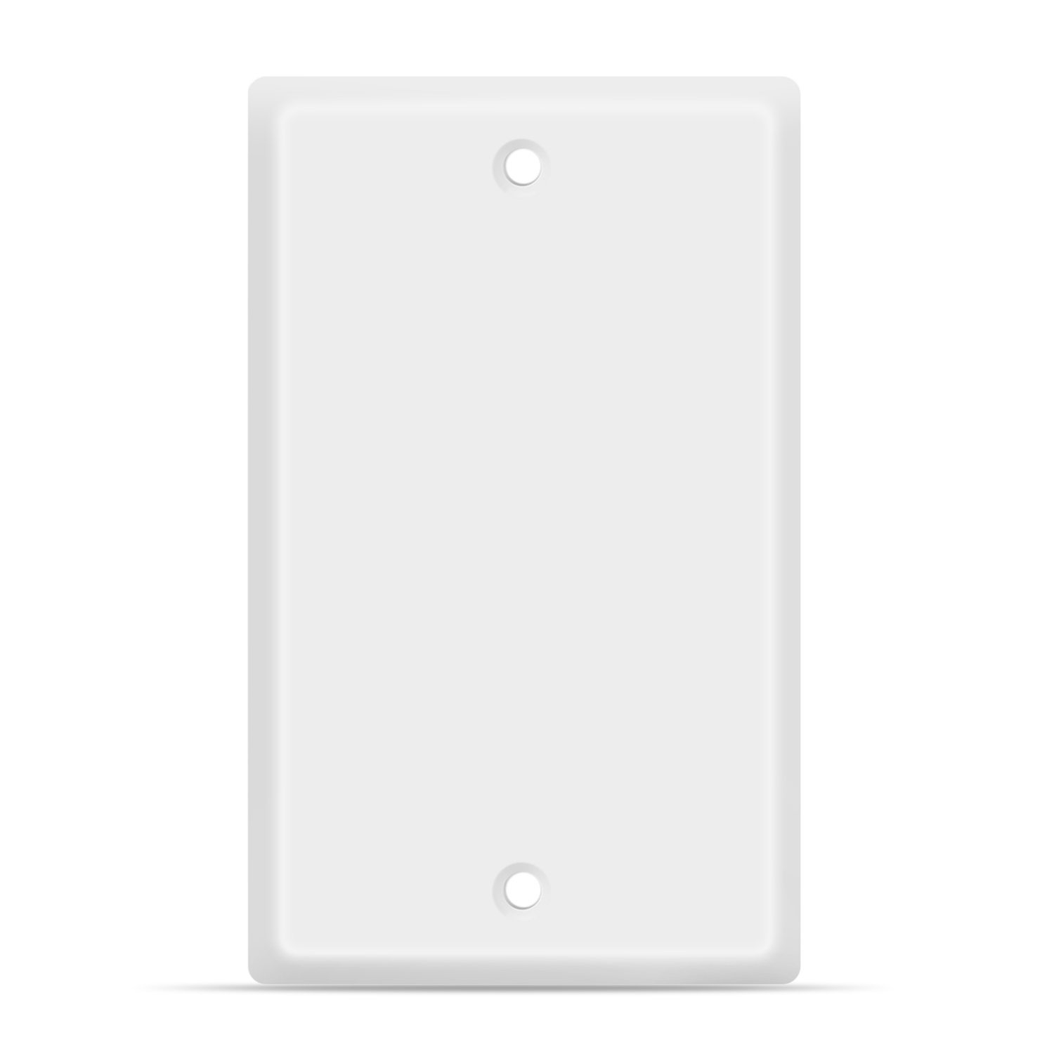Blank Wall Plate Outlet Cover Blank Faceplate Socket Insert Jack
