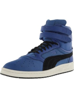 b6c9a4137b02 Product Image Puma Men s Sky Ii Hi Color Blocked Leather Lapis Blue   Black  Ankle-High Fashion