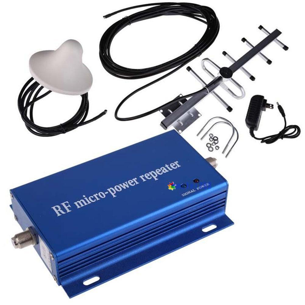 Cell Phone Signal Booster 4G 8dBi High Gain 806-960MHz BandCell Phone Signal Amplifier Mobile Signal Booster Repeater Amplilfier (Blue)