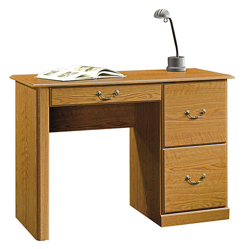Sauder Computer Desk, Carolina Oak