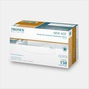 Tronex-Synthetic Exam Glove, Food Safe, Powder-Free, White, Medium (Case of 1500)