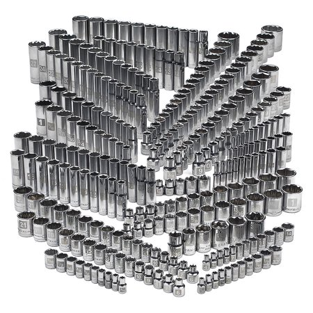 Craftsman 299 piece Ultimate Easy Read Deep Standard SAE Metric Socket