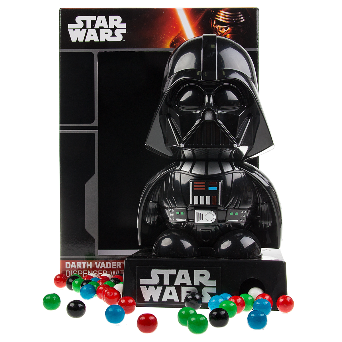 Darth Vader Mini Gumball Machine Candy Dispenser Star Wars Toy Lights & Sounds