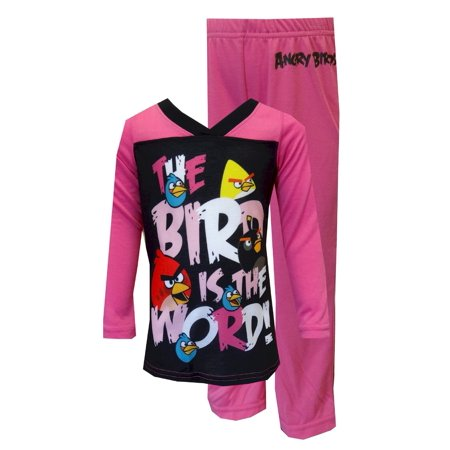 Angry Birds The Bird Is the Word Girls' Pajamas - Angry Birds Outfit
