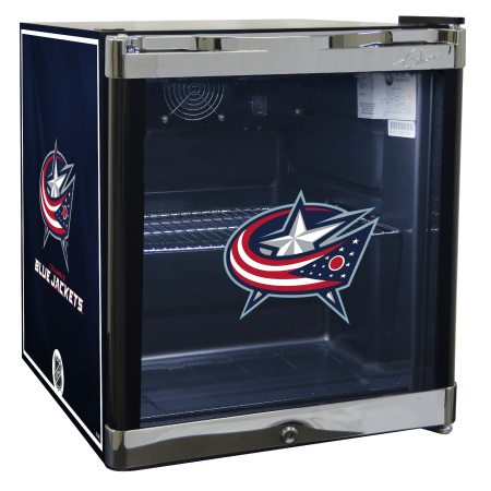 NHL Refrigerated Beverage Center 1.8 cu ft Columbus Blue Jackets by