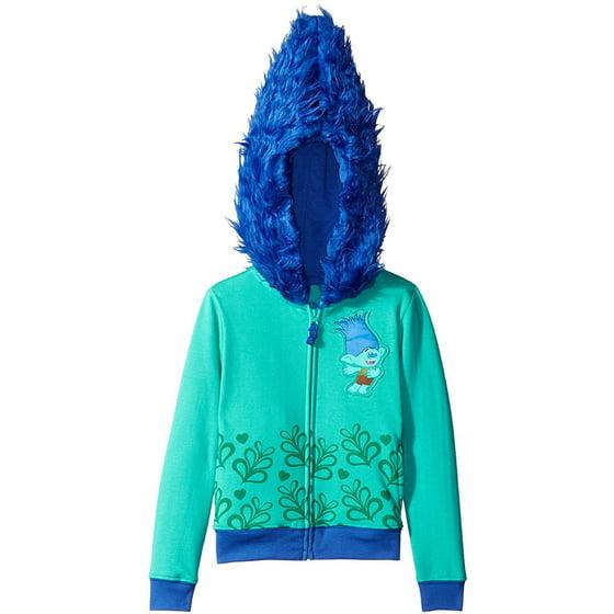 ae5c77163 Trolls - Trolls Girls' Costume Hoodie (Little Girls & Big Girls) -  Walmart.com