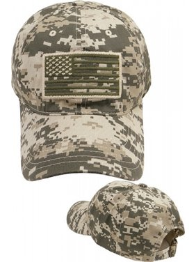 14cfac513c0 Product Image US Flag Tone-On-Tone Relaxed Cotton Mens Baseball Cap   Digital Camouflage -