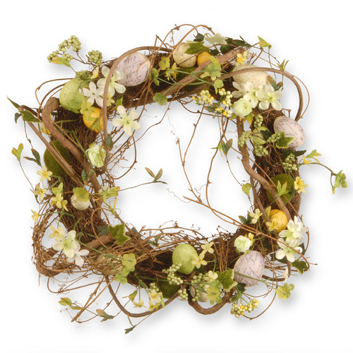 "18"" Easter Eggs Wreath by National Tree"