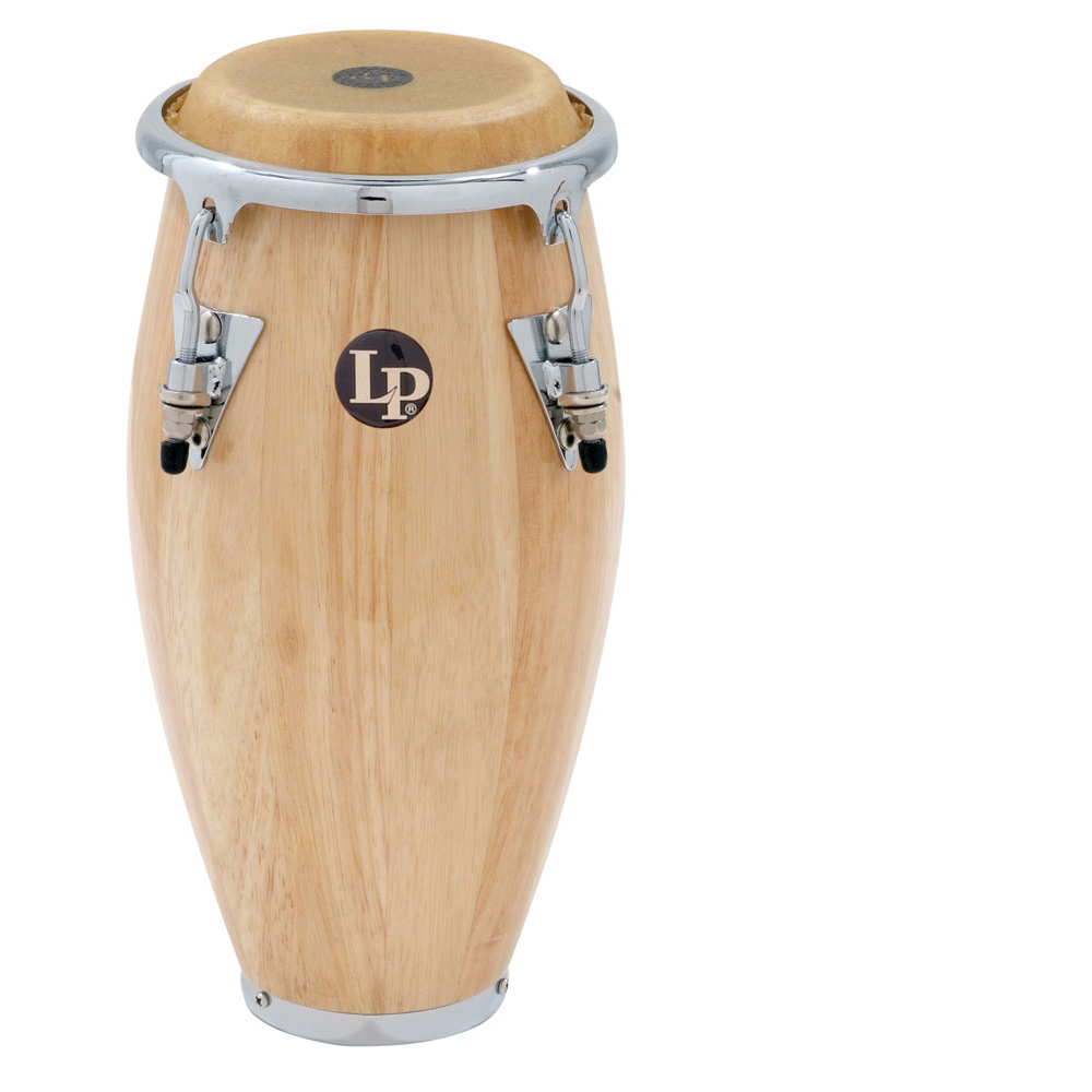 Latin Percussion Mini Conga Natural Wood Finish by LP