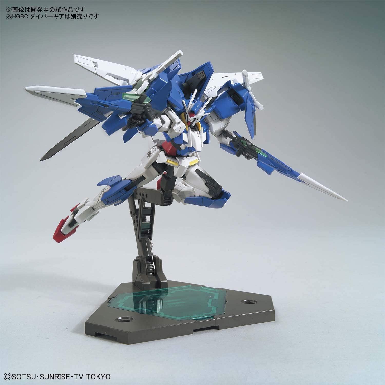 BANDAI HGBD Gundam Build Divers Gundam 00 Diver 1//144 Scale Plastic Model Kit