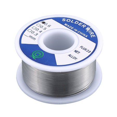 Tin Lead Rosin Core Solder 0.8Mm/0.6Mm/1.0Mm 100G/50G Flux Reel Welding Line - image 4 of 9