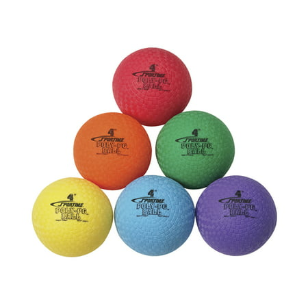 Sportime Poly-PG Ball, 6 Inches, Colors Will Vary for $<!---->